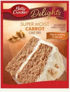 Super Moist Carrot Cake Mix