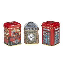 Traditions Of London Tea Selection Mini Tin Gift Pack