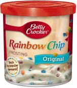 Rich and Creamy Rainbow Chip Frosting