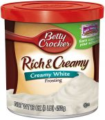 Rich and Creamy Creamy White Frosting