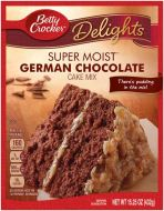 German Chocolate Cake Mix