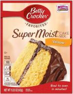 Super Moist Yellow Cake Mix