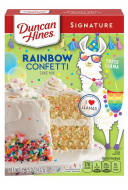 Rainbow Confetti Cake Mix
