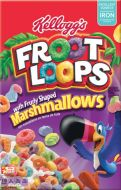 Froot Loops Fruity-Shaped Marshmallow