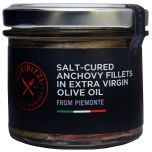 Salt-Cured Anchovy Fillets in Extra Virgin Olive Oil