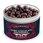 Dark Chocolate Macadamia Gift Tin