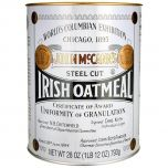 Irish Oatmeal Steel Cut Tin