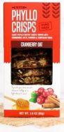 Cranberry Oat Phyllo Crisps