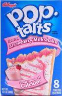 Pop-Tarts Frosted Strawberry Milkshake