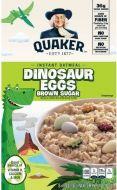 Dinosaur Eggs Instant Oatmeal