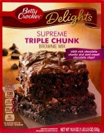 Supreme Triple Chunk Brownie Mix